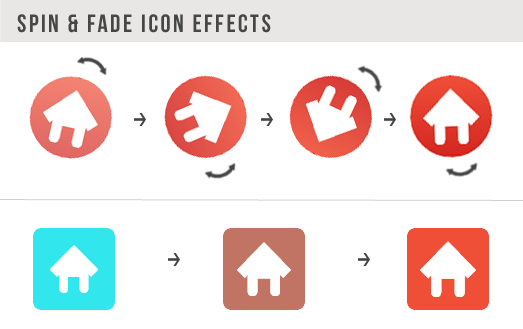 SPIN FADE ICON ผล 404