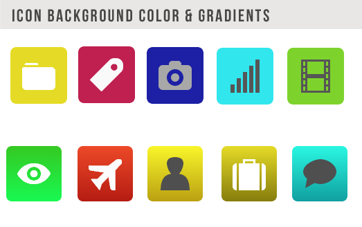 ICON BACKGROUND COLOR GRADIENTS.iiI