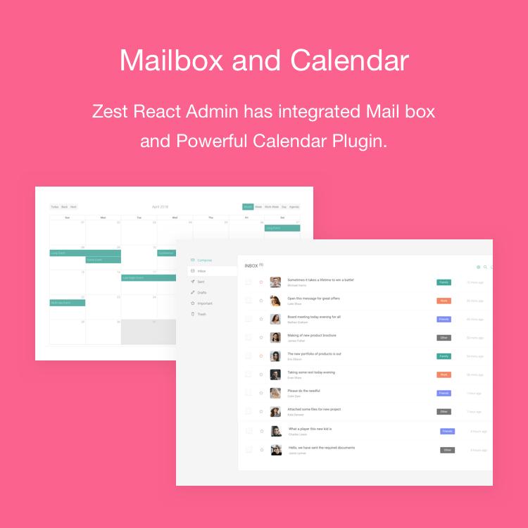 Zest: Multi-Concept React Admin Template - 7